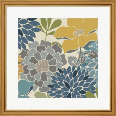 Metaverse Art Modern Bouquet Square Framed Print Wall Art