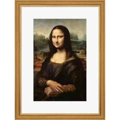 Metaverse Art Mona Lisa C.1503-6 Framed Print WallArt
