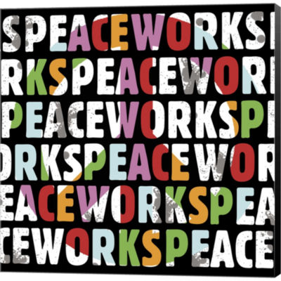 Metaverse Art Peace Works Gallery Wrapped Canvas Wall Art