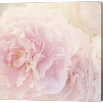 Metaverse Art Peony Vi Gallery Wrapped Canvas WallArt