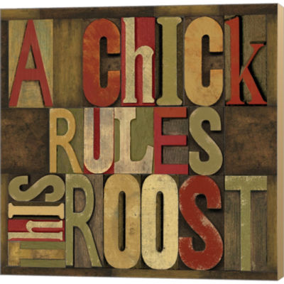 Metaverse Art Printers Block Rules This Roost I Gallery Wrapped Canvas Wall Art
