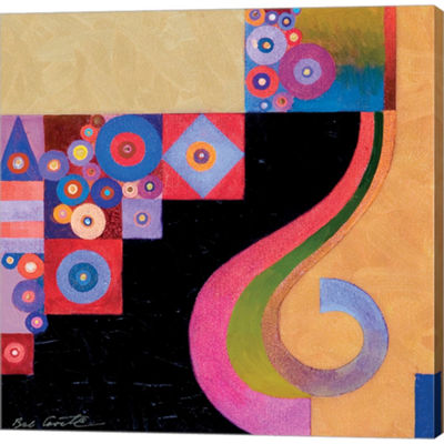 Metaverse Art Pyth 3 Gallery Wrapped Canvas Wall Art