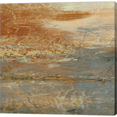 Metaverse Art Siena Abstract III Gallery Wrapped Canvas Wall Art
