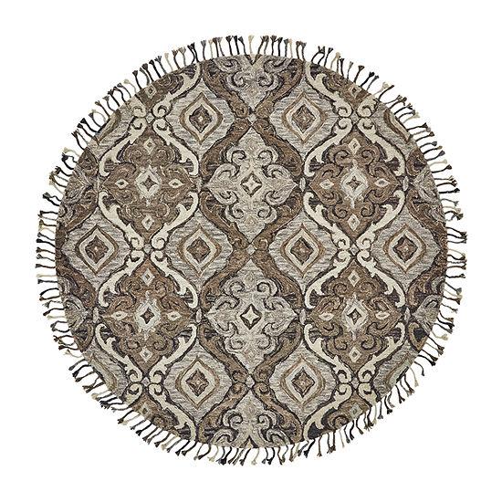 Weave And Wander Calendra Argyro Hand Tufted Rectangular Indoor Rugs