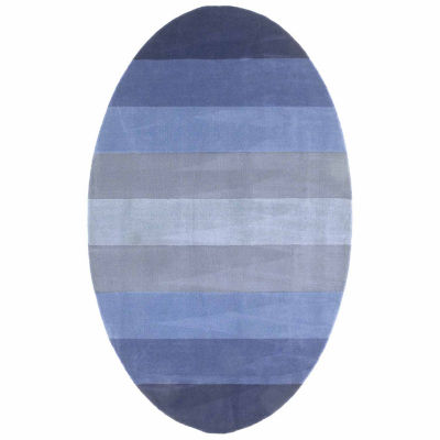 St. Croix Trading Aspect Striped Oval Rugs