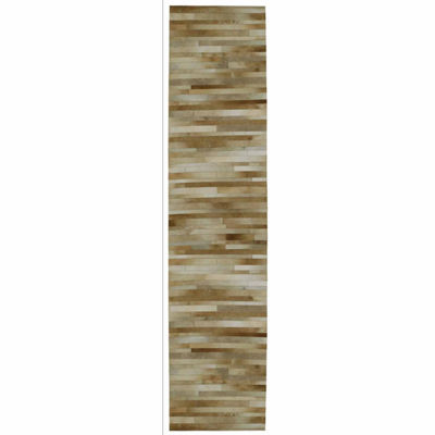 St. Croix Trading Rectangular Leather Hair-On HideMatador Rectangular Runner