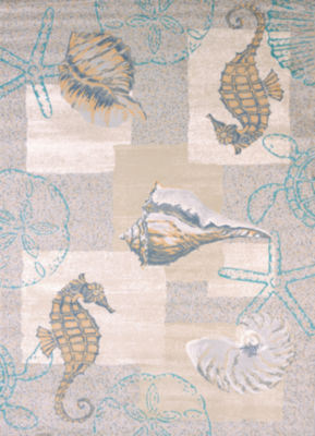 United Weavers Modern Textures Collection Mystic Sea Rectangular Rug