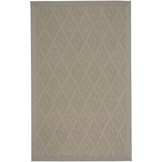 Capel Inc. Llano Silver Mist Rectangular Indoor/Outdoor Rugs