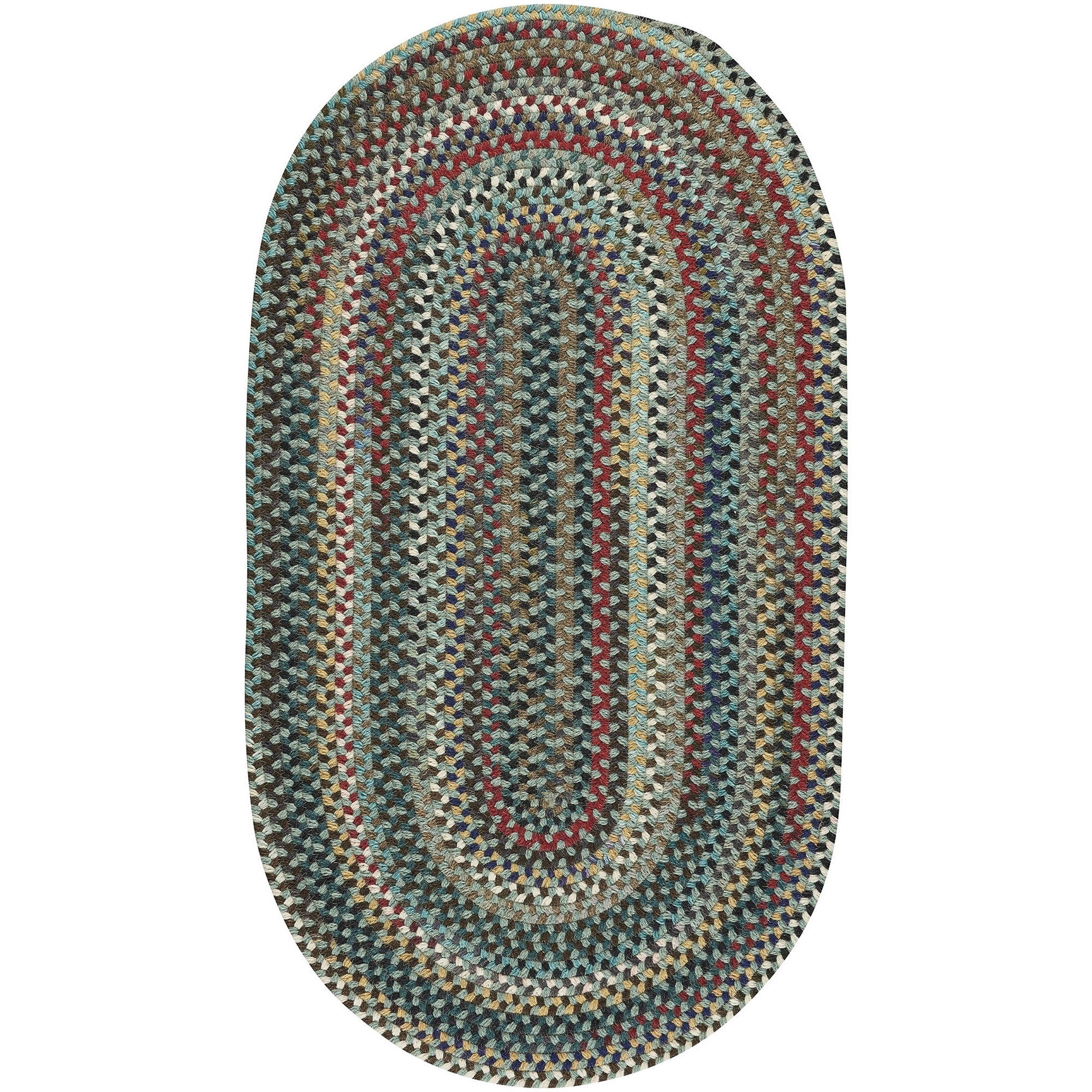 Capel Inc. Bunker Hill Braided Oval Rugs