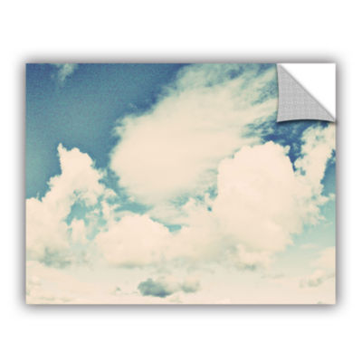 Brushstone Clouds On A Beautiful Day Removable Wall Decal