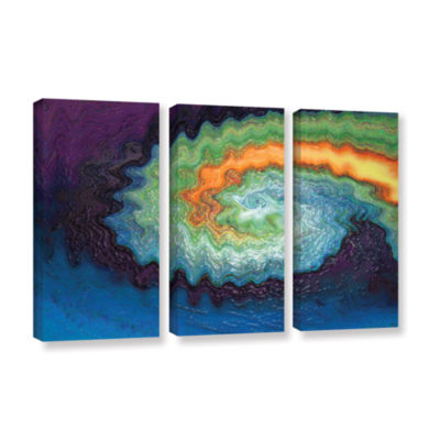 Brushstone Awuanna 3-pc. Gallery Wrapped Canvas Wall Art