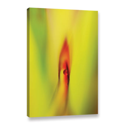 Brushtone Flame Gallery Wrapped Canvas Wall Art