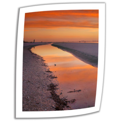 Brushstone Captiva Sunset Canvas Poster Wall Art