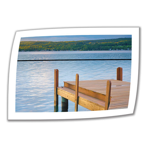 Brushstone End of Summer II Canvas Poster Wall Art
