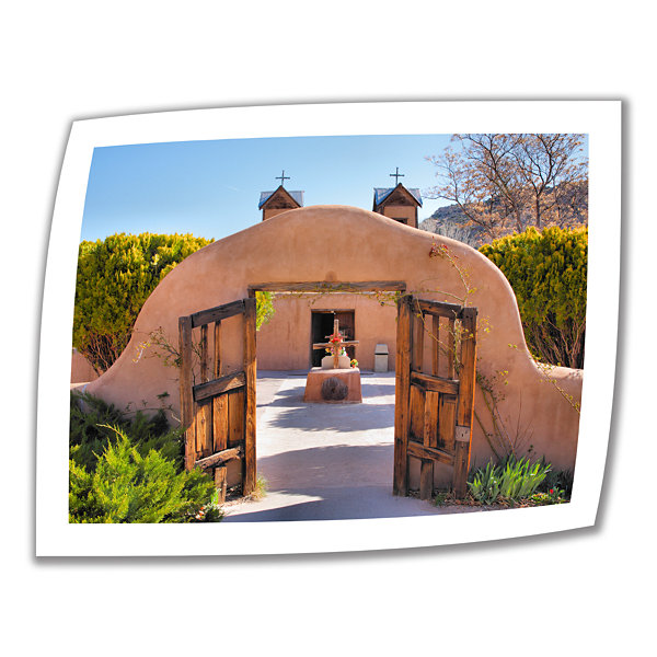 Brushstone Gate to Chimayo Canvas Poster Wall Art