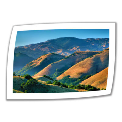 Brushstone Golden Hills Canvas Poster Wall Art