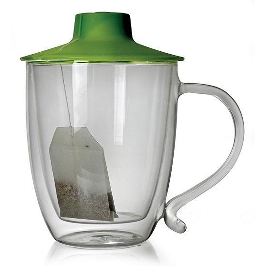 Double Wall Mug with Tea Bag Buddy