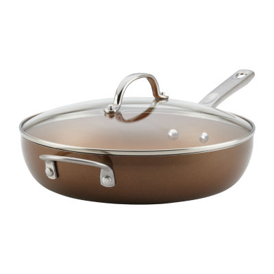 """Ayesha Curry™ Home Collection 12"""" Covered Skillet"""