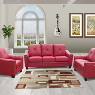 Walden Bonded Leather Sofa