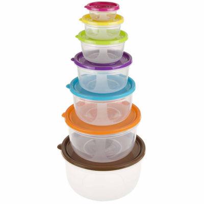 14-Piece Round Food Storage Set