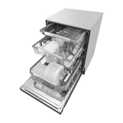LG ENERGY STAR® Top Control Dishwasher with QuadWash™ and Third Rack