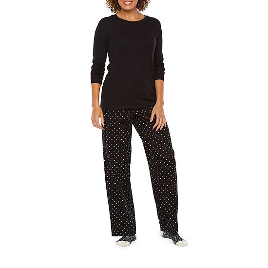 3c34cd7ea5 Liz Claiborne 3 Piece Pant Pajama Set With Socks-Tall - JCPenney