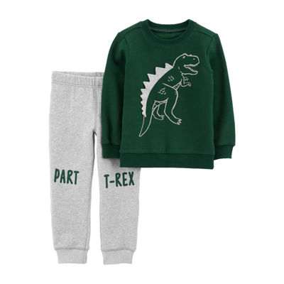 Carter's 2-pc. T-Rex Pullover & Jogger Set - Baby Boys