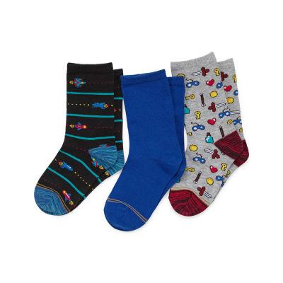 Gold Toe 3 Pair Crew Socks