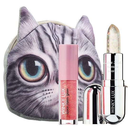 Winky Lux Sparkle Kitty Lip Gloss + Balm Kit