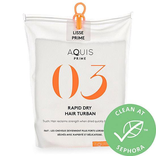 Aquis 03 Prime Rapid-Dry Hair Turban