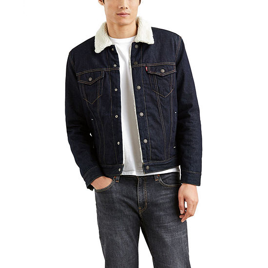 Levi's® Long Sleeve Sherpa Trucker