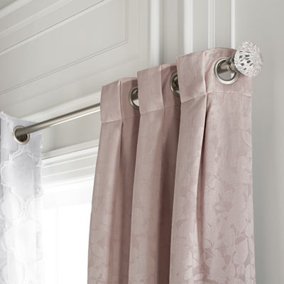 Liz Claiborne Zoe Leaf Blackout Grommet-Top Curtain Panel