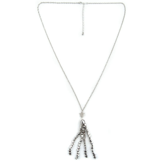 Arizona Womens Clear Strand Necklace