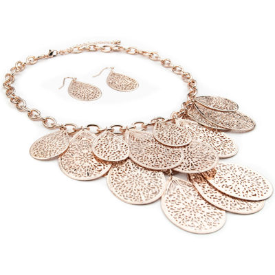 Mixit Rose Tone 3-pc. Jewelry Set