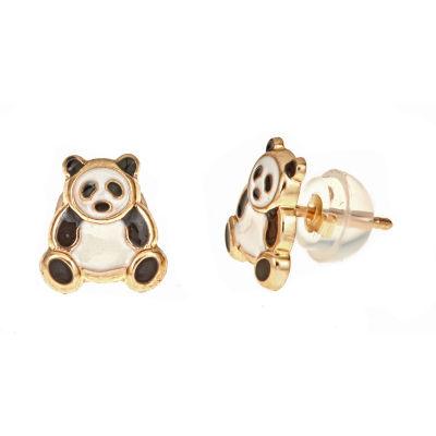 14K Gold 7mm Stud Earrings