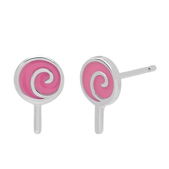 Nana's Crazy Monkeys Sterling Silver Stud Earrings