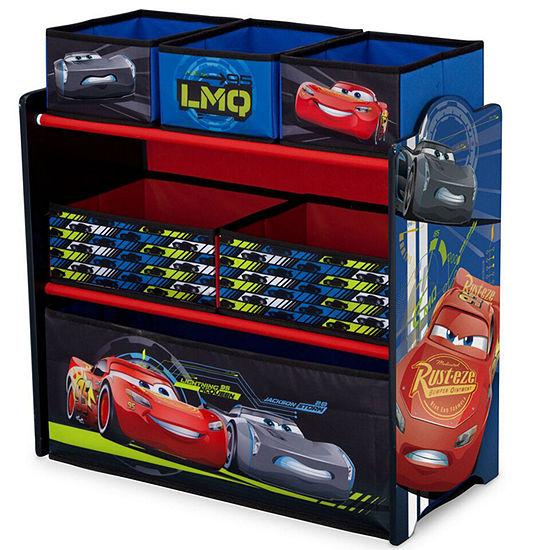 Disney 6-Cubby Toy Organizer