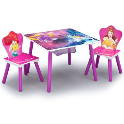 Disney Princess 2-pc. Kids Table + Chairs