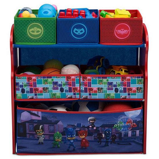 6 Cubby Toy Organizer