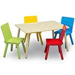 Delta Children 5-pc. Kids Table + Chairs