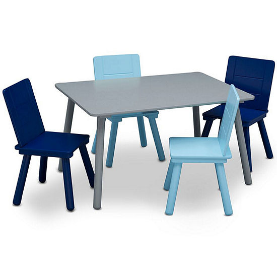 Prime Delta Children 2 Pc Kids Table Chairs Gmtry Best Dining Table And Chair Ideas Images Gmtryco