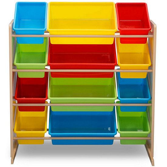 Delta Children 12-Cubby Toy Organizer