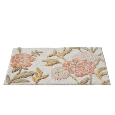 Saturday Knight Misty Floral Bath Rug