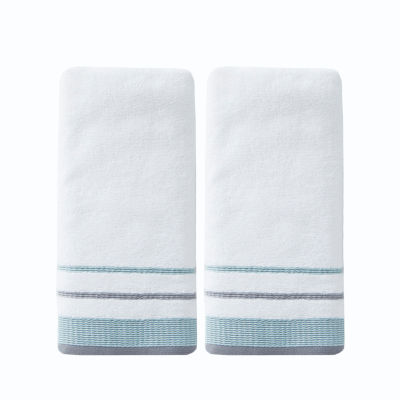Saturday Knight Neutral Nuances Go Round 2-pk Hand Towels