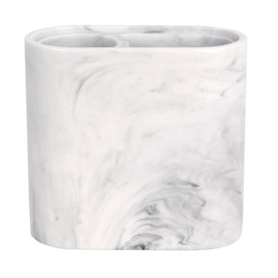 Saturday Knight Neutral Nuances Marble Swirl Toothbrush Holder