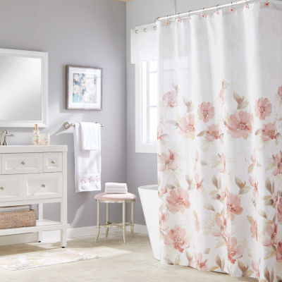 Saturday Knight Misty Floral Shower Curtain