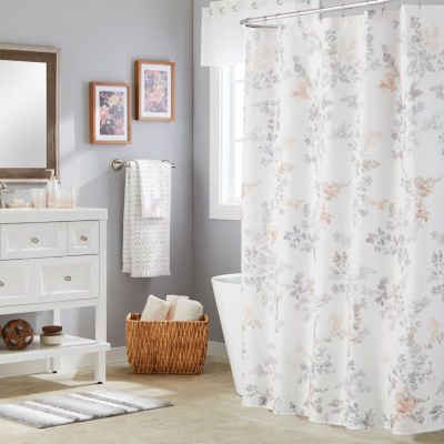 Saturday Knight Greenhouse Leaves Shower Curtain