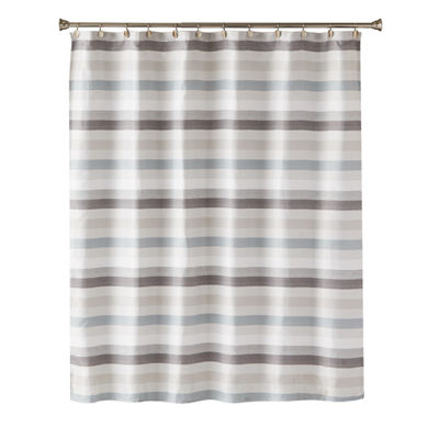 Saturday Knight Neutral Nuances Westwick Shower Curtain