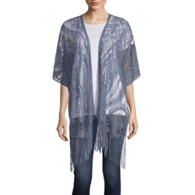 Mixit Lace Kimono Wrap