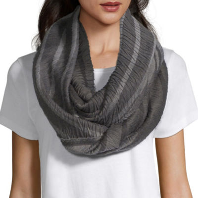 Mixit Ombre Pleated Infinity Scarf
